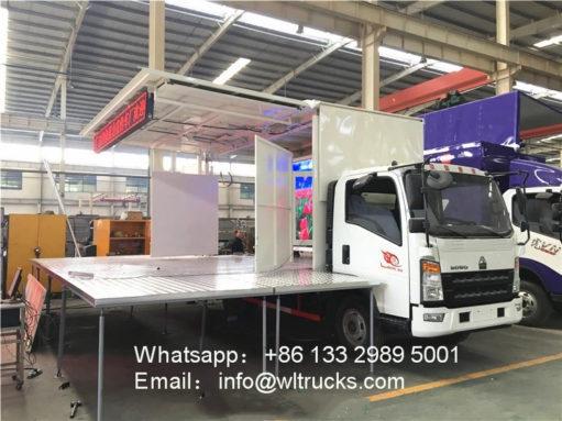 Sinotruk stage truck
