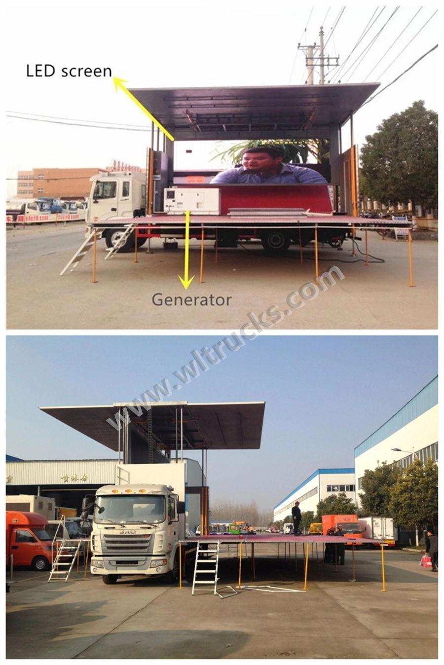 Stage truck modification style photos