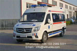 TOANO ICU Ambulance vehicle