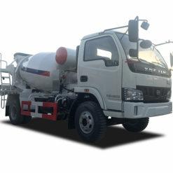 Yuejin 2m3 mixer truck