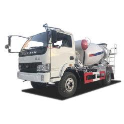 Yuejin 2m3 small beton mixer truck
