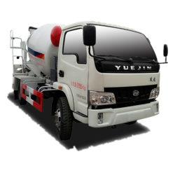 Yuejin 3m3 mini cement mixer truck