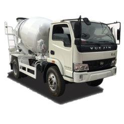 Yuejin 4cbm self mixing concrete truck