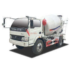 Yuejin 5m3 concrete mix truck
