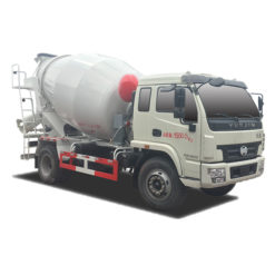 Yuejin 6cbm concrete mixer truck