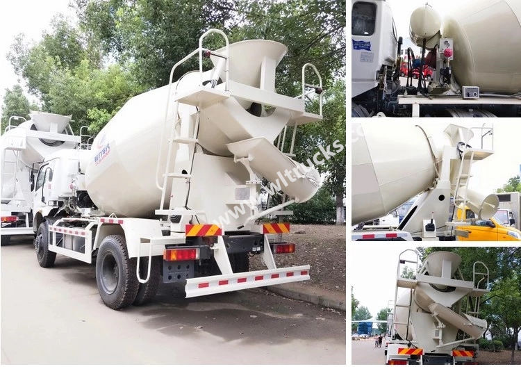 cement mixer truck detailed picture