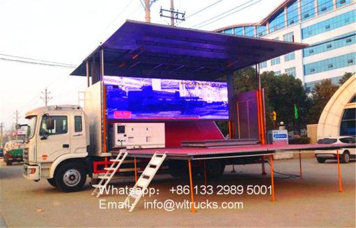 flow stage truck