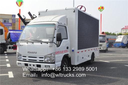led mobile truck