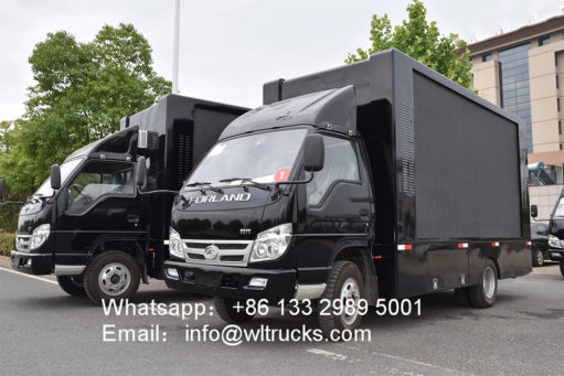 led mobile trucks