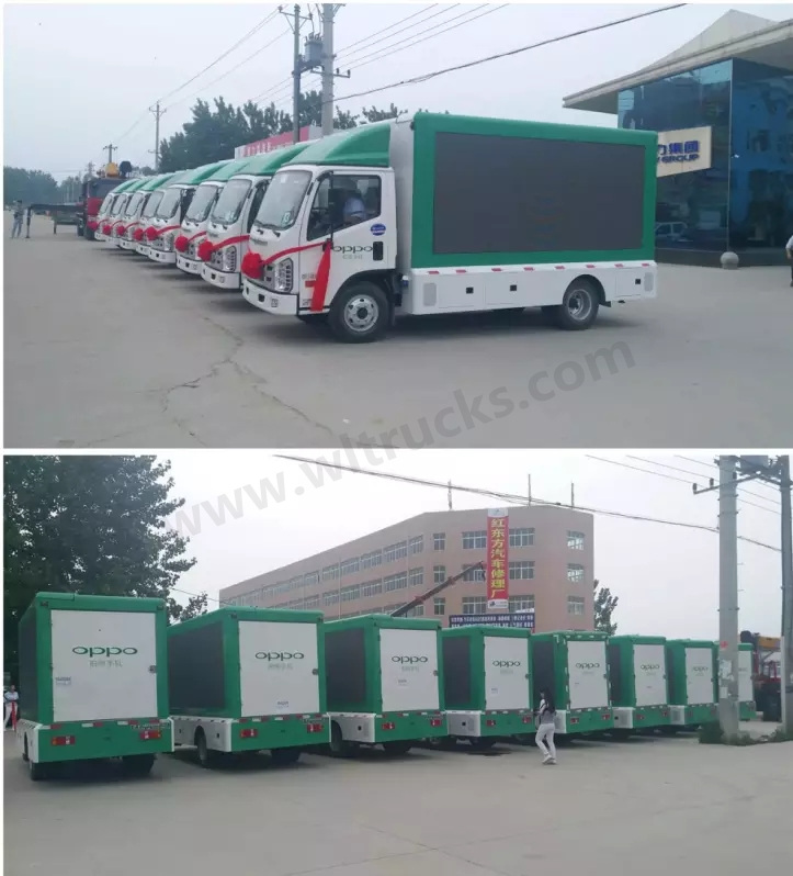led screen truck