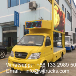 led screen trucks