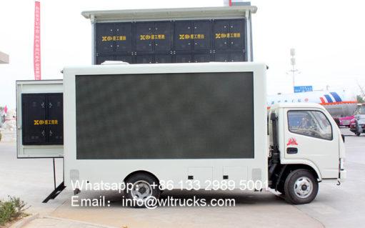 led wall truck