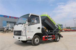 mini 3000 liter vacuum truck