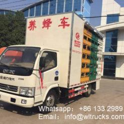 mobile Beekeeping truck