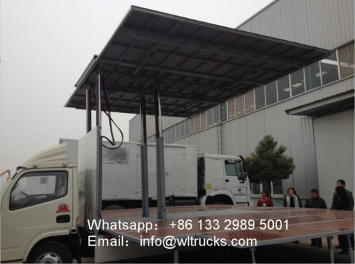mobile stage trucks