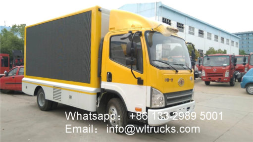 outdoor led video truck
