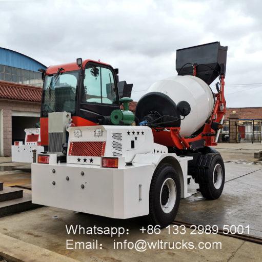 self loading mixer truck