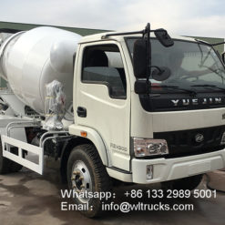 self mixing concrete truck