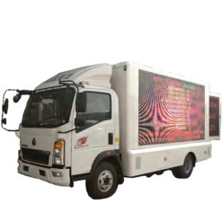 sinotruk HOWO mobile led billboard truck