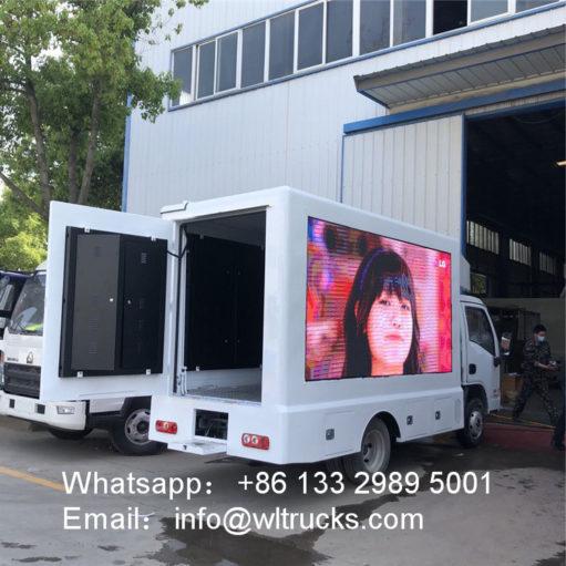 small Led billboard truck