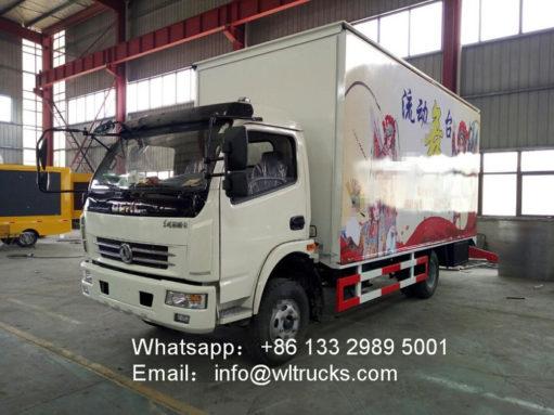 stage trucks