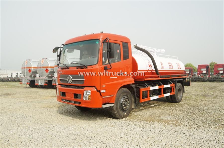 10 ton vacuum Fecal suction truck