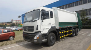10 wheel Dongfeng Kinland 18cbm garbage compactor collection truck
