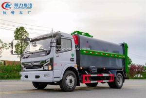 10cbm Side mounted hanging bucket garbage compactor truck