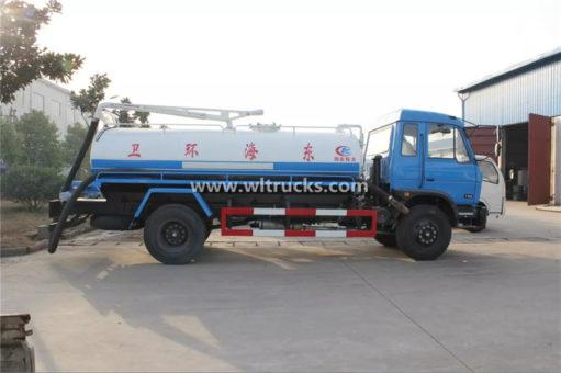 10m3 vacuum Septic tank truck