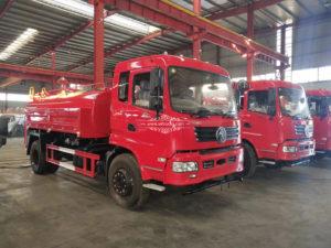 12000 liter fire water tank truck