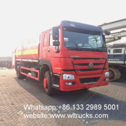 12000 liters fire water sprinkler truck