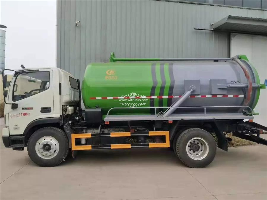 12cbm sewage suction truck