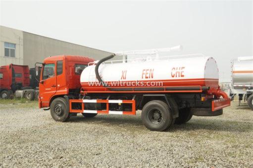 15 ton vacuum Fecal suction truck