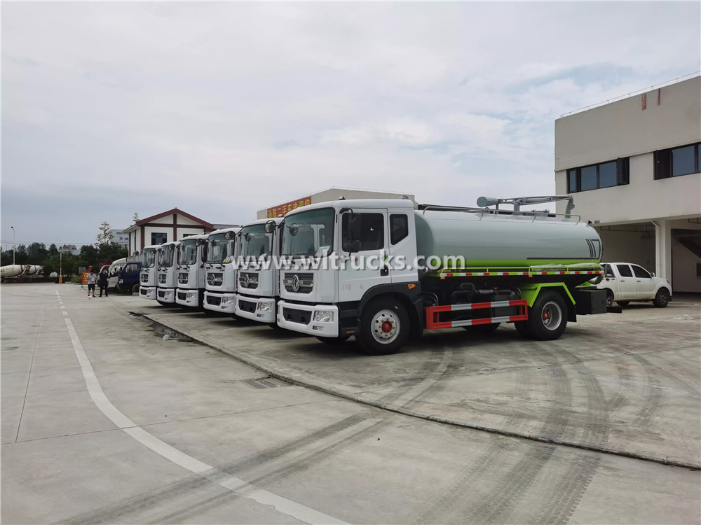 15000L Fecal suction truck