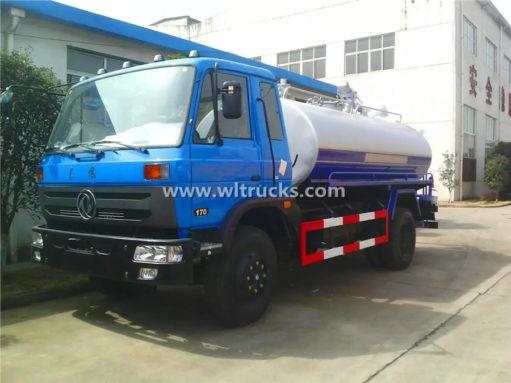 15m3 vacuum Septic tank truck