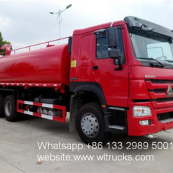 18000L fire water tanker truck
