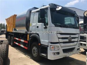 25 Tons Sinotruk HOWO Asphalt Synchronous Chip Sealer truck