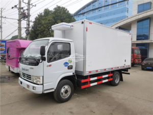 3 ton Stainless steel refrigerated truck