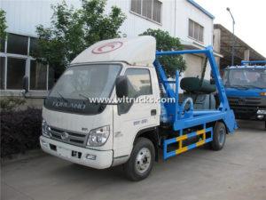 4x2 Forland 3m3 Skip Loader Garbage Truck
