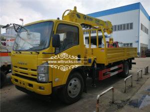 5 ton truck mounted crane Shipping to Mongolia