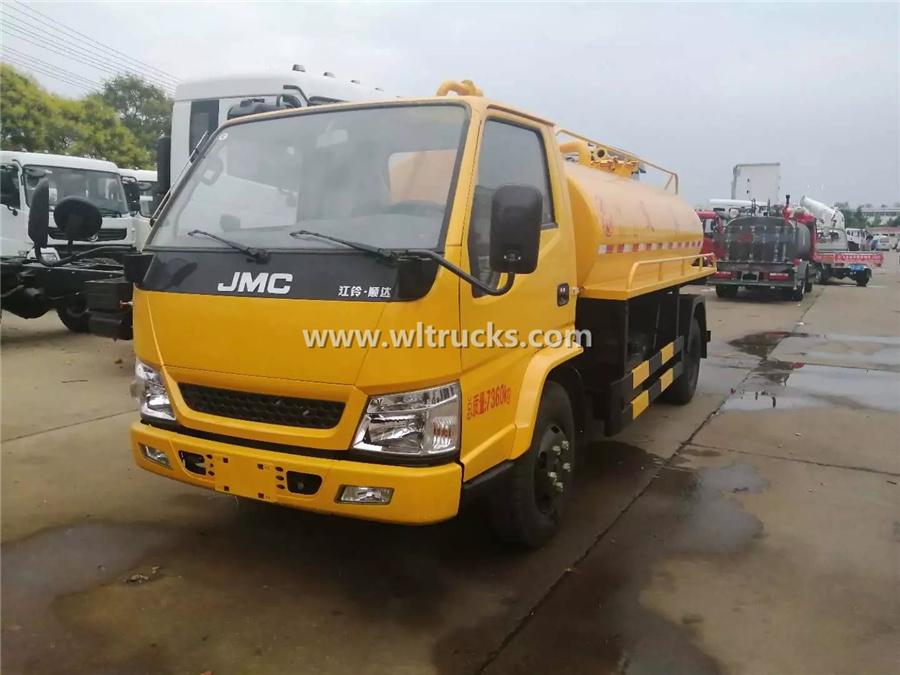 5000 liter toilet dredge truck