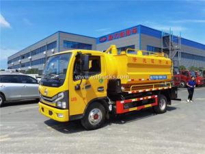 5000L Vacuum Sewer jetting suction truck