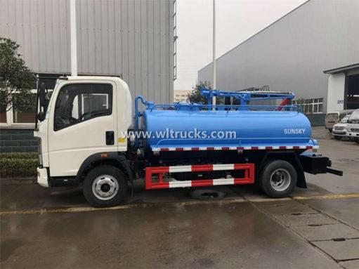 5000liters septic tank truck