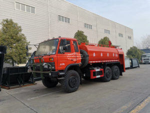 6WD fire water tank truck