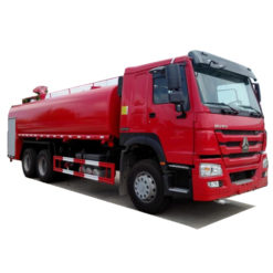 6x4 Sinotruk Howo 18000L fire water tanker truck