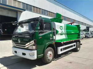 7 tons kitchen garbage truck