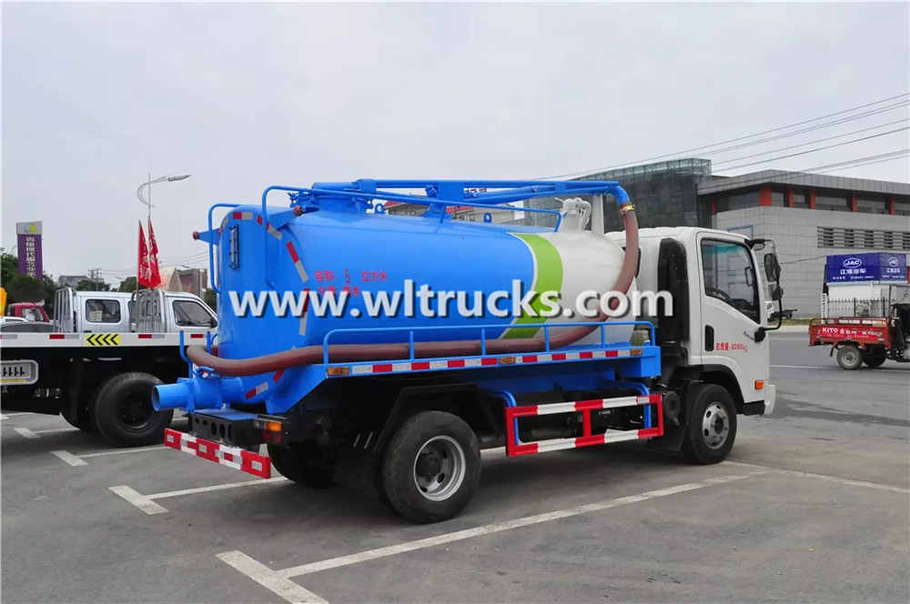 8 ton fecal suction truck