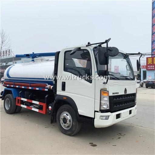 8000 liter vacuum fecal suction truck