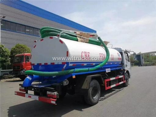 8000L vacuum fecal truck