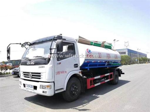 8cbm vacuum fecal truck